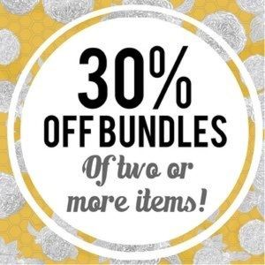 30% off bundles two or more items